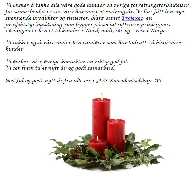 jul ønsker tekst