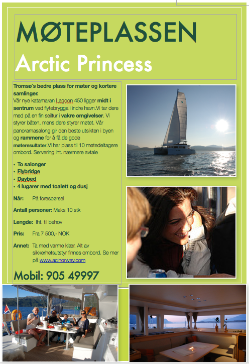 Møteplassen - Arctic Princess